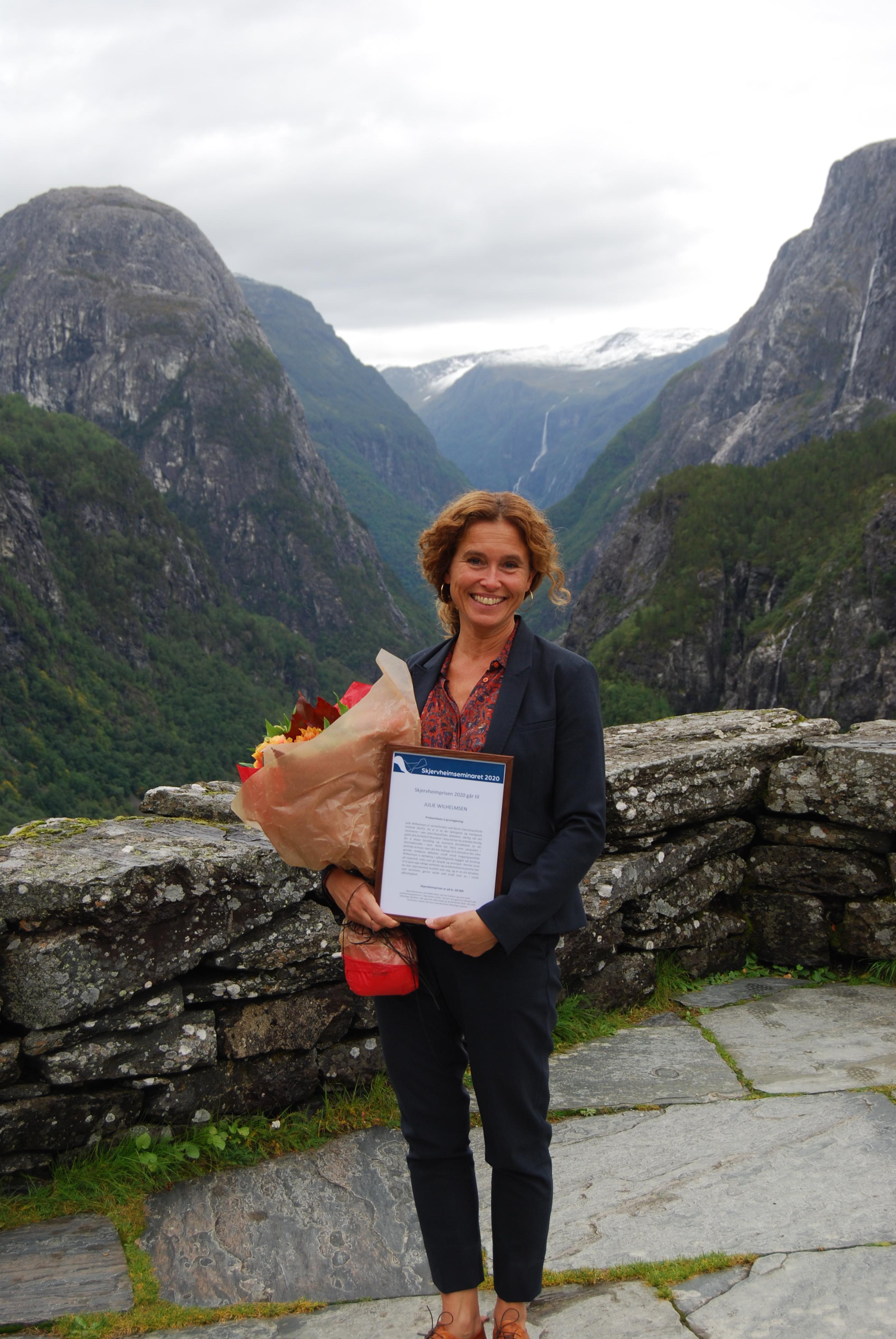 Julie Wilhelmsen Skjervheimprisen 2020