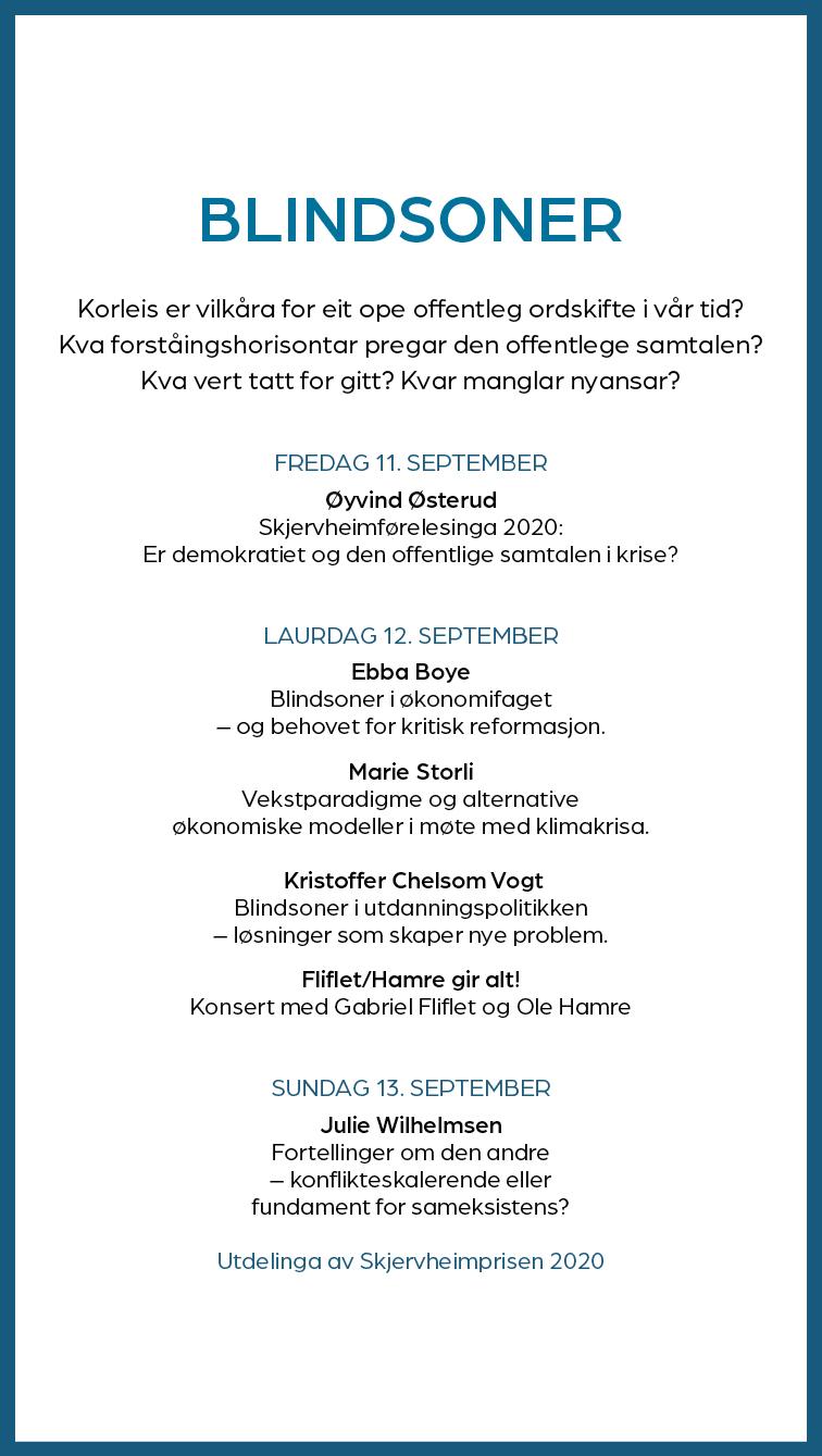 Skjervheimseminaret Program 2020 JPEG